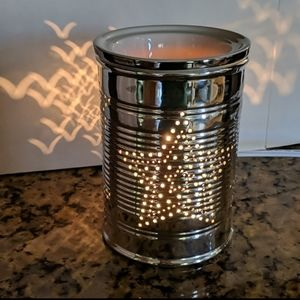 Tin can Scentsy warmer